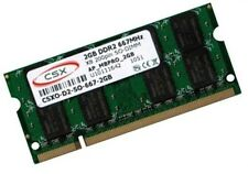2GB DDR2 667Mhz RAM Speicher Lenovo Netbook S12 Markenspeicher CSX Hynix SO-DIMM