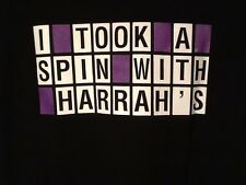 "New Wheel of Fortune ""I Took A Spin With Harrah's""  T-Shirt Size Large"
