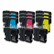 12 LC61 Ink Cartridges for Brother MFC-290C MFC-295CN MFC-J415W MFC-J670 MFC-490