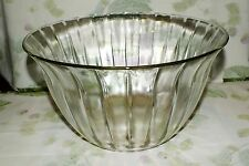 TOSCANY CRYSTAL CELEBRATION paneled CLEAR PUNCH BOWL   EXC