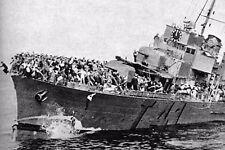"""WW2 - Dunkerque mai 40 - Chavirage du destroyer français """"Bourrasque"""""""