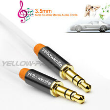 3.5mm Male To Male Car/Home Stereo Tangle-Free Auxiliary Audio Cable for Tablet