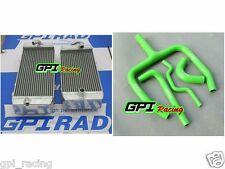 Aluminum radiator +hose KAWASAKI KXF250 KX250F KX 250F KXF 250 2015 2016 new