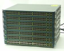 LOT 7 CISCO 3560 WS-C3560-48PS-S V07 48-PORT POE MANAGED ETHERNET NETWORK SWITCH