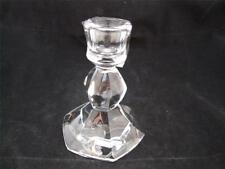 Wedgwood Vera Wang Orient Crystal 4 inch Candlestick.