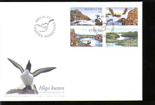 Sweden 2005 Eagles/Lighthouse/Raptors 4v FDC (n13640)