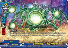 """Buddyfight x 1 Gemclone, """"Fake Healer"""" [D-BT04/0006EN RRR (FOIL)] English Mint F"""