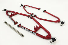 "Lonestar Racing Sport A-Arms +2"" Candy Red Honda TRX450R TRX450ER LSR Lonestar"