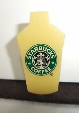 Starbucks Coffee Japan Yellow Bottle Tumbler Pin Batch Best Partner RARE
