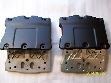 Harley twin cam rocker boxes-fit 99-present-DENIM BLACK POWDER COAT
