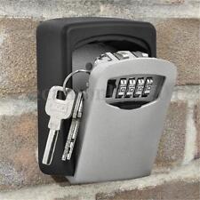 4 Dígito Combinación Candado Caja de Llave Almacenamiento Seguridad Pared Monte