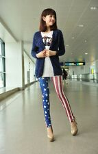 SPECIAL SALE BIN $6.99 ALLURING WOMENS USA FLAG PATTERN PRINTED SEXY LEGGING