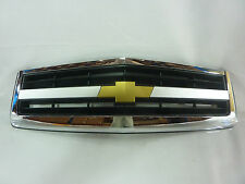 HOLDEN CAPRICE STATESMAN WK WL CHROME CHEV GRILLE WITH BOWTIE LOGO # 92093801