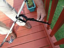 Pier and Dock Fishing Pole Rod and Reel Holder Saver
