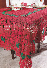 Crochet Pattern ~ O TANNENBAUM TABLECLOTH Christmas Tree ~ Instructions