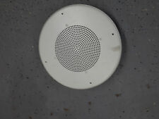 "Quam SOUND 8"" DUAL CONE LOUDSPEAKER CEILING FLUSH MOUNT WHITE speaker"