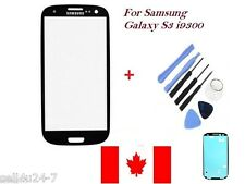 Black Replacement LCD Front Glass Lens Samsung Galaxy S3 i9300 i747 T999 + Tools