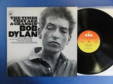 BOB DYLAN  THE TIMES THEY ARE A CHANGIN CBS 70's UK LP nr MINT ARCHIVE