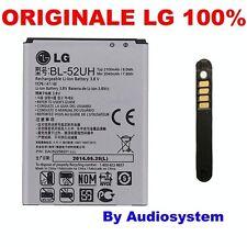 BATTERIA ORIGINALE DA 2100MAH PER LG L FINO D290 SPIRIT 4G H420 H440 BL-52UH