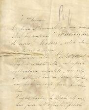 Lettera Autografa Scrittrice Bice Catelani Paoli Istituto Magistrale Lucca 1925