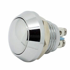 """12mm 1/2"""" Anti-Vandal Momentary Metal Push button Switch Dome Top for box mods"""