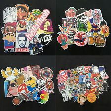 100 Skateboard Vinyl Sticker Skate Graffiti Laptop Luggage Mobile Car Bomb Decal