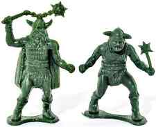 DFC Two (2) Titans - 'Dragonriders of the Styx' - unpainted plastic