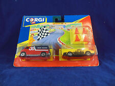 Scarce 1991 Corgi Juniors Twin Pack No 92240 Racing team Custom Van & Pontiac