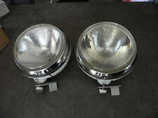 PAIR OF CIBIE SUPER OSCAR SPOTLIGHTS HEADLIGHT BULBS vintage car auto sport vtg