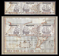 Philippines Stamps 2011 MNH Maps & Galleons complete set