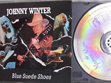 Johnny Winter- Blue Suede Shoes. MAGNUM/ THUNDERBOLD 1991 WIE NEU