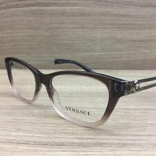 Versace Mod 3220 Eyeglasses Brown Gradient Gold 5165 Authentic 52mm