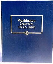Whitman Classic Washington Quarters 1932-1990 Coin Album #9122 New in package