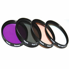 Optics Polaroid  58mm 4 Piece Camera Lens Filter Set (UV, CPL, FLD, WARMING