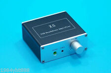 PCM2706 + CS4344 +Dual TDA1308 Parallel Output USB DAC headphone Amplifier PC