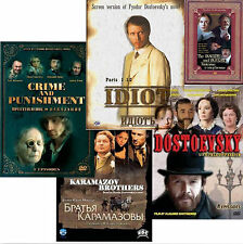 Fyodor Dostoevsky Collection (9DVD NTSC) with English subtitles Dostoevskiy