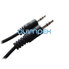 F36 Klinke Audio Kabel 2,5mm zu 3,5mm Stecker Stereo Aux Audiokabel Adapter 0,5m