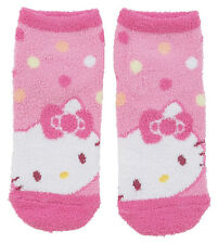 NEW SANRIO HELLO KITTY SOCKS woman size for shoe size 5 1/2 - 7 keep warm