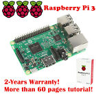 Neu Raspberry Pi 3 Model B Quad Core CPU 64 Bit 1GB RAM 1.2GHz WiFi Bluetooth