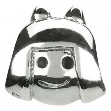 AUTHENTIC CHAMILIA 925 STERLING SILVER GIRL HEAD GE-2 CHILD DAUGHTER BEAD CHARM