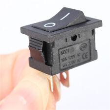 ****lot de 2  mini Interrupteur 2 Pin 250V 6A Noir Mini KCD1-101  ******