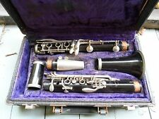 Vintage Normandy Restone USA Wood Clarinet with Hardcase