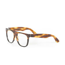 Retrosuperfuture Flat Top Striped Tobacco Optical Glasses SUPER-864 55mm