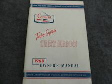 1968 Cessna Turbo System Centurion Airplane  Owners Manual