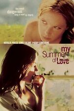 MY SUMMER OF LOVE Movie POSTER 27x40 Nathalie Press Emily Blunt Paddy Considine