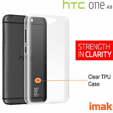 HTC One A9 IMAK Ultra Thin Soft TPU Gel Clear Case Cover For HTC One A9