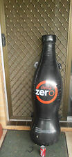 "54"" GIANT COKE COCA COLA ZERO BOTTLE INFLATABLE PROMOTIONAL ONLY SHOP DISPLAY"