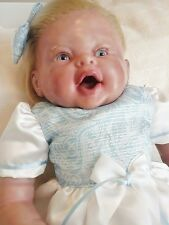 OOAKSnuggles Prototype Lazy Kitty Nursery Reborn Therapy Lifelike Baby Girl Doll
