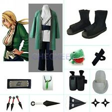 Tsunade 5th Hokage Halloween Cosplay Costume set from naruto