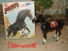 BIG JIM - Karl May - Pferd - Pinto + OVP ! Barbie - Horse+ box / Congost 7383